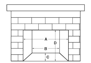 Fireplaceinsert.com, Fireplace Gas Insert D1-25