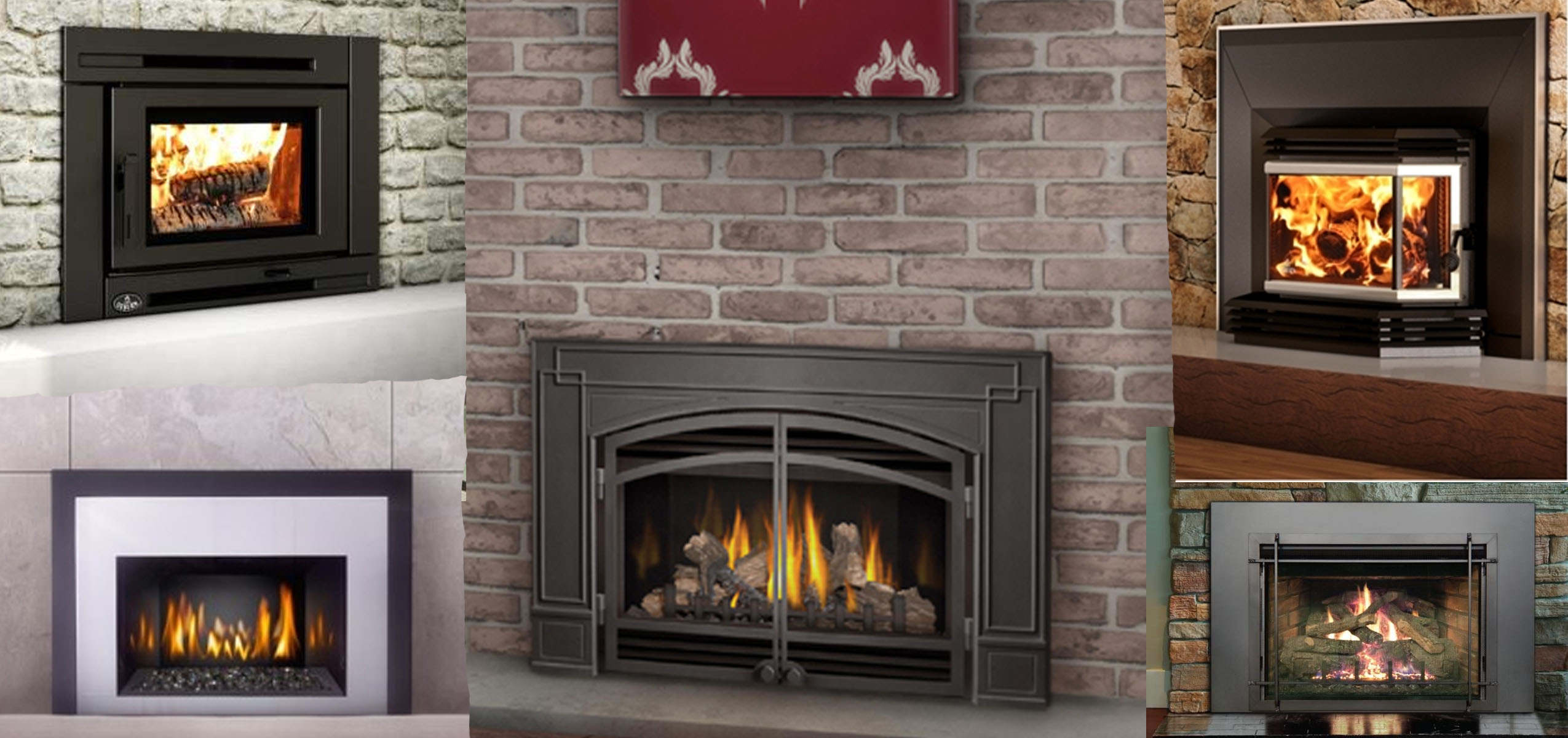 Fireplaces, Fireplace Inserts and Stoves