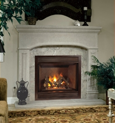 Fmi Products Direct Vent Gas Fireplace Victorian