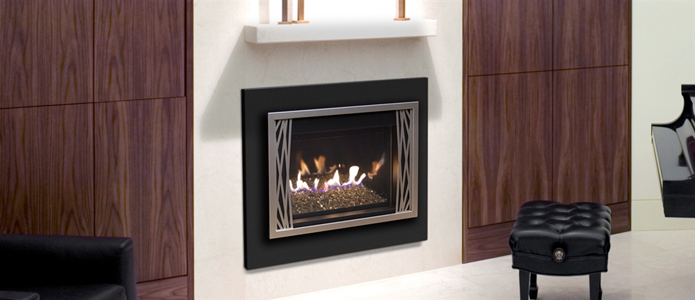 R H Peterson Contemporary Gas Insert D2 30f