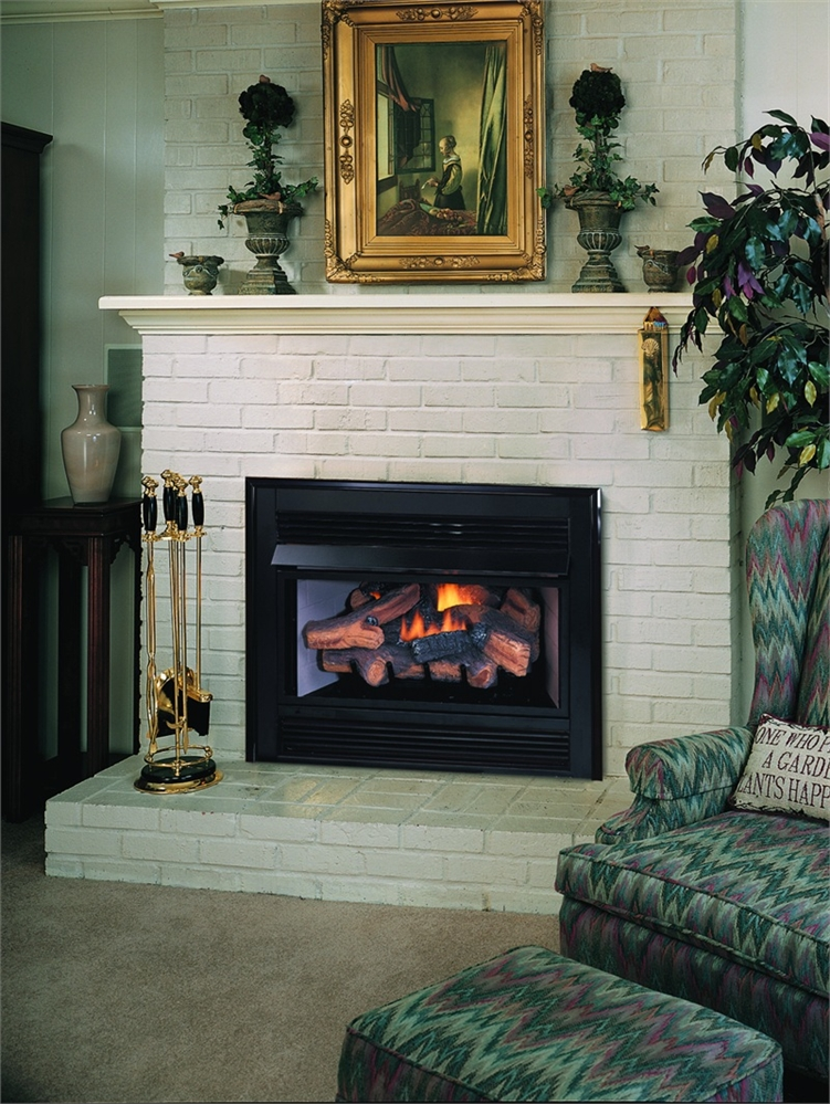 Hearth vent free gas fireplace for Vantage hearth