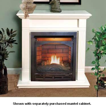 Vantage Hearth Vent Free Gas Fireplace Mini Classic Hearth