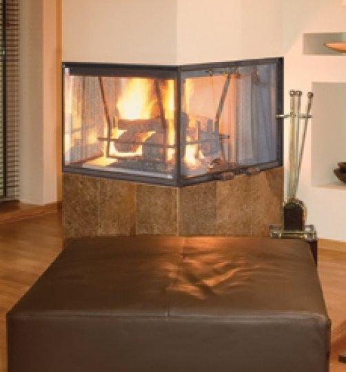 Fireplaceinsert Com Vantage Hearth Peninsula Wood Fireplace