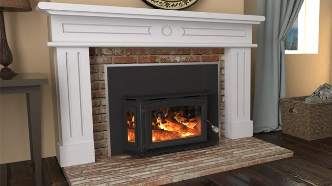 - Breckwell Wood Fireplace Insert SW180I