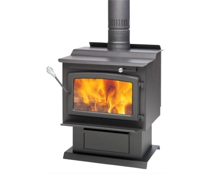 - Century Heating Large Wood Stove FW3000