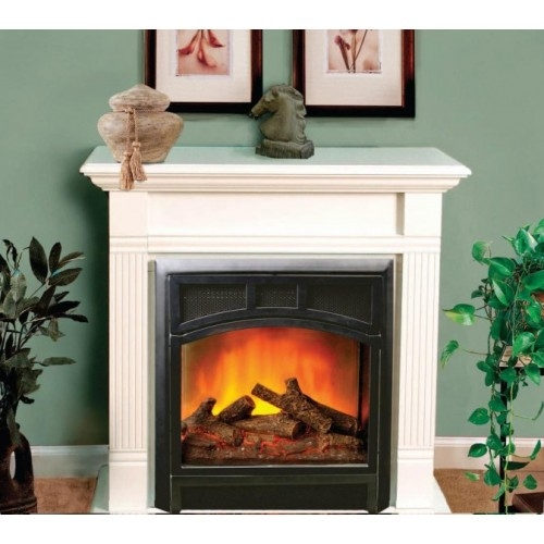 Comfort Flame Electric Fireplace Arlington Mini  Small Electric Fireplaces