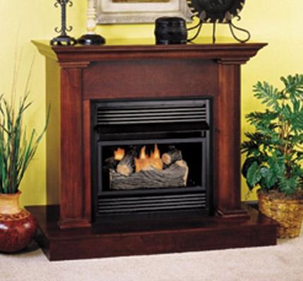 Fireplaceinsert.com, Comfort Flame Vent Free Gas Fireplace Dual Compact - Fireplaceinsert.com, Comfort Flame Vent Free Gas Fireplace Dual