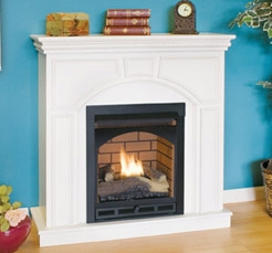 comfort flame vent free gas fireplace mini