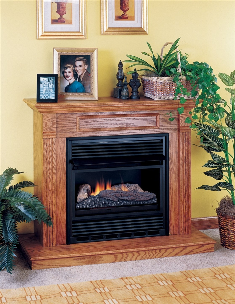 Comfort Flame Vent Free Gas Fireplace Single Compact - Fireplaceinsert.com, Comfort Flame Vent Free Gas Fireplace Single