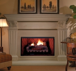 FMI Products Vent Free Gas Fireplace Bavarian