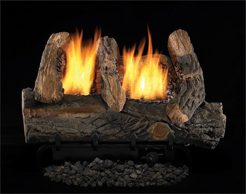 fmi products vent free gas log set heat majic