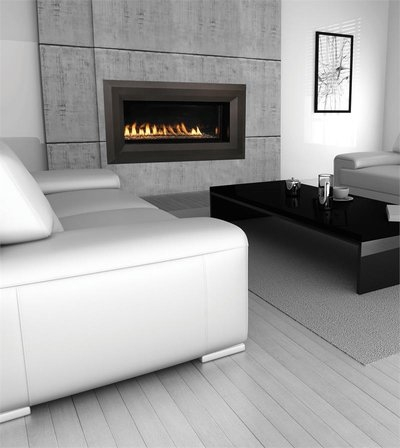 FMI Products Vent Free Gas Fireplace Paris Lights