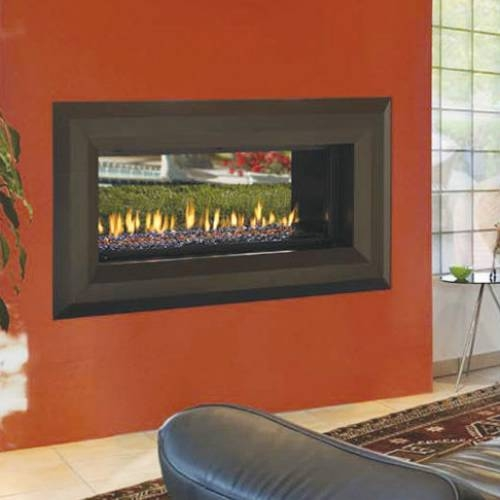 FMI Products Direct Vent Gas Fireplace Venice Lights