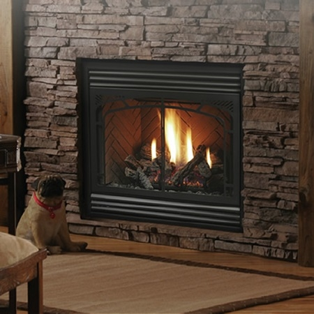 Kingsman Zero Clearance Direct Vent Gas Fireplace HBZDV3624 - Kingsman Zero Clearance Direct Vent Gas Fireplace HBZDV3624
