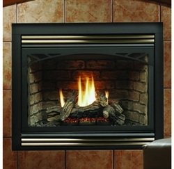 Kingsman Zero Clearance Direct Vent Gas Fireplace HBZDV4224 ...