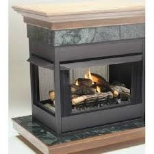 kingsman zero clearance multisided vent free gas fireplace mvf40