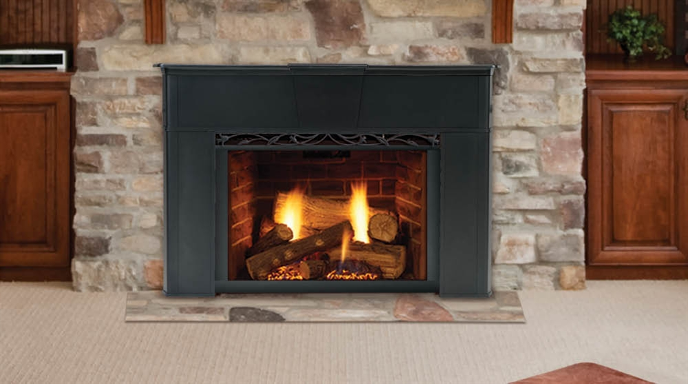 gas fireplace inserts with blowers