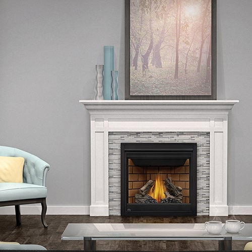 direct vent wood fireplace insert propane fireplaces for sale used gas napoleon ascent series