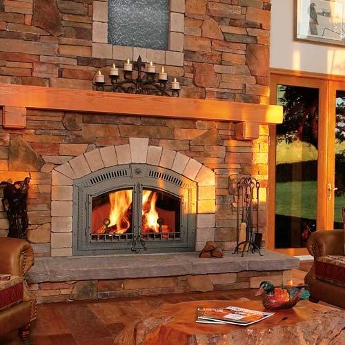 Fireplaceinsertcom Napoleon NZ6000 Wood Fireplace High Country