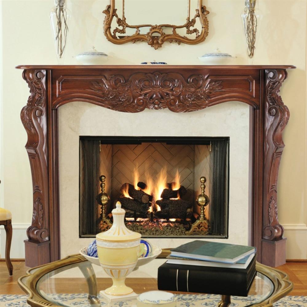 pearl mantels deauville fireplace mantel surround