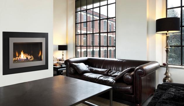 - Superior Direct Vent Gas Fireplace DRC3000 Contemporary