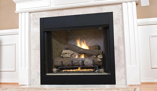 - Superior Vent Free Gas Fireplace VRT3500