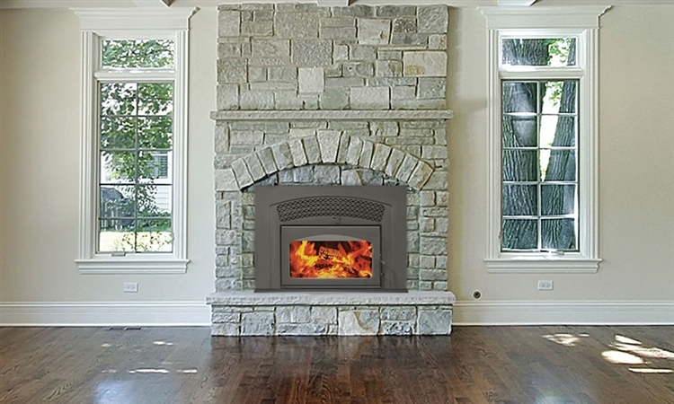 Fireplaceinsert.com,Supreme Volcano Plus Fireplace Insert with ...