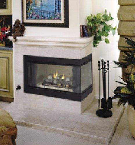 Vantage Hearth B Vent Gas Corner Fireplace - Hearth B Vent Gas Corner Fireplace