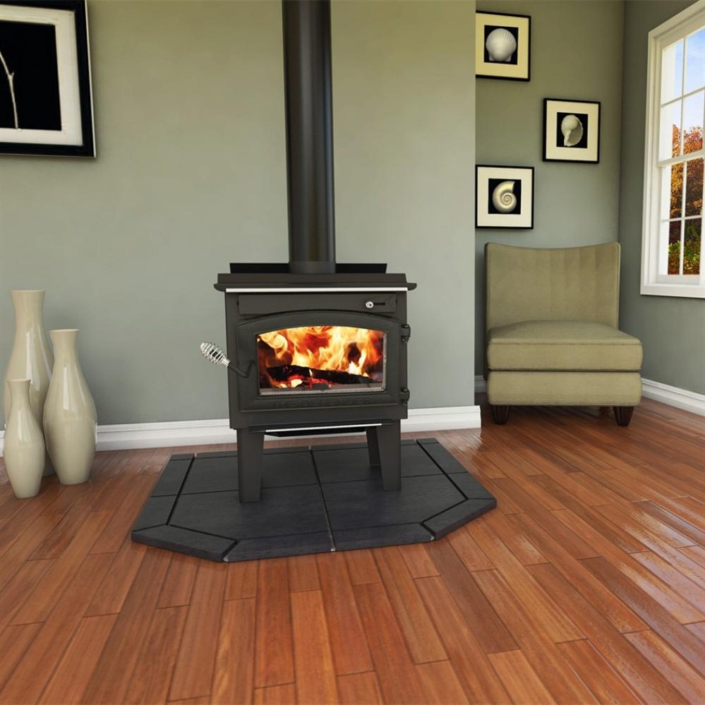 Vogelzang Plate Steel Wood Stove Defender - Fireplaceinsert.com, Vogelzang Plate Steel Wood Stove Defender