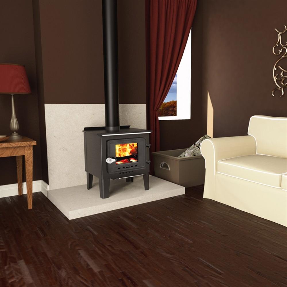 Vogelzang Plate Steel Wood Stove Frontiersman - Fireplaceinsert.com, Vogelzang Plate Steel Wood Stove Frontiersman