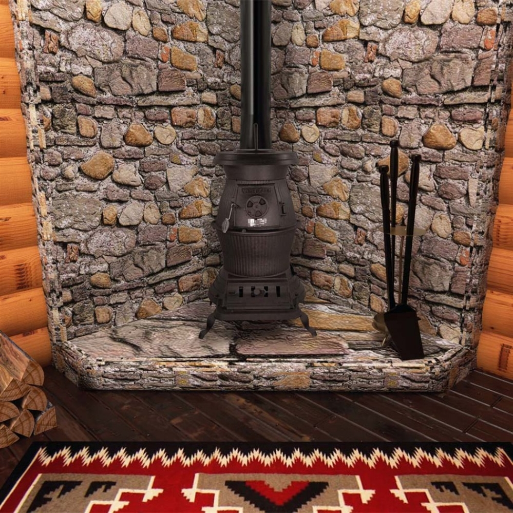 Vogelzang Cast Iron Railroad Potbelly Wood Stove - Fireplace.com, Vogelzang Cast Iron Railroad Potbelly Wood Stove