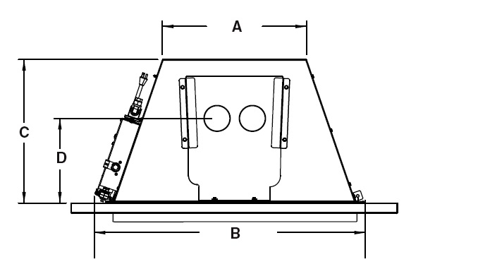 Fireplaceinsert Fireplace Gas Insert D1 36