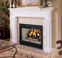 Fireplaceinsert Com Comfort Flame Wood Fireplace Blackstone