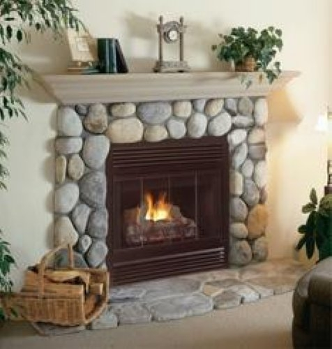 Firplaceinsert Com Fmi Products B Vent Gas Fireplace Cottage
