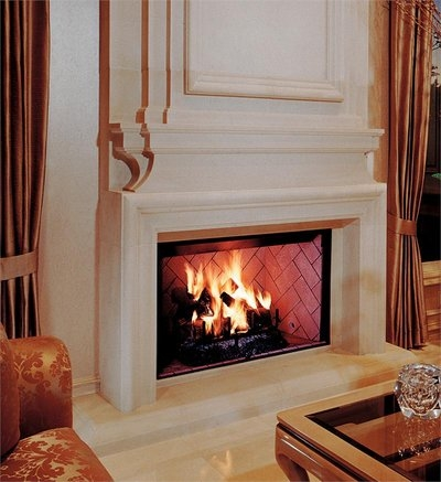 Fmi products wood fireplace craftsman for Craftsman gas fireplace