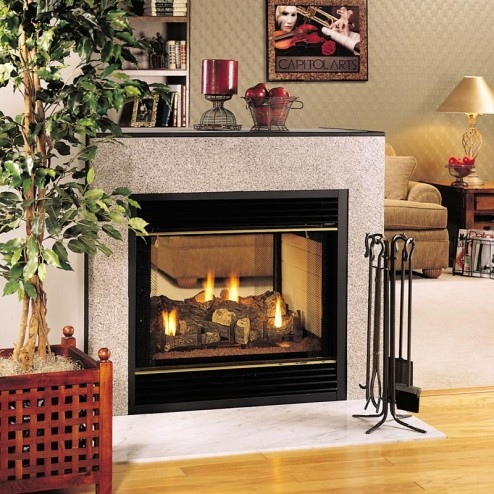 Fmi products direct vent gas fireplace santa fe for Vantage hearth