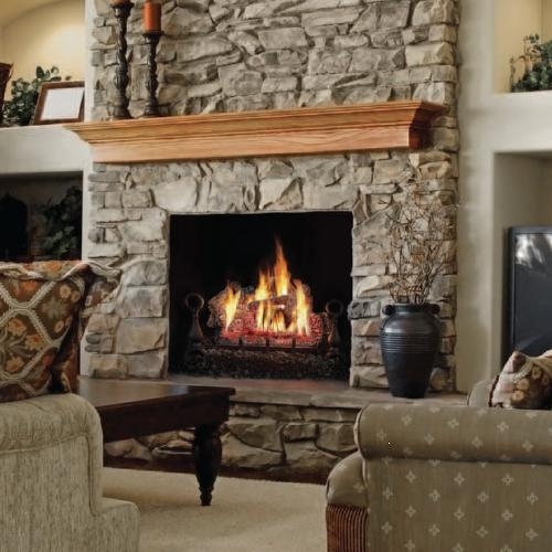 Napoleon Fiberglow Vent Free Gas Log Set