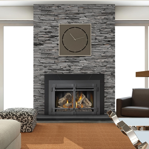 Fireplaceinsert Com Napoleon Xir4 Gas Insert Infrared Series