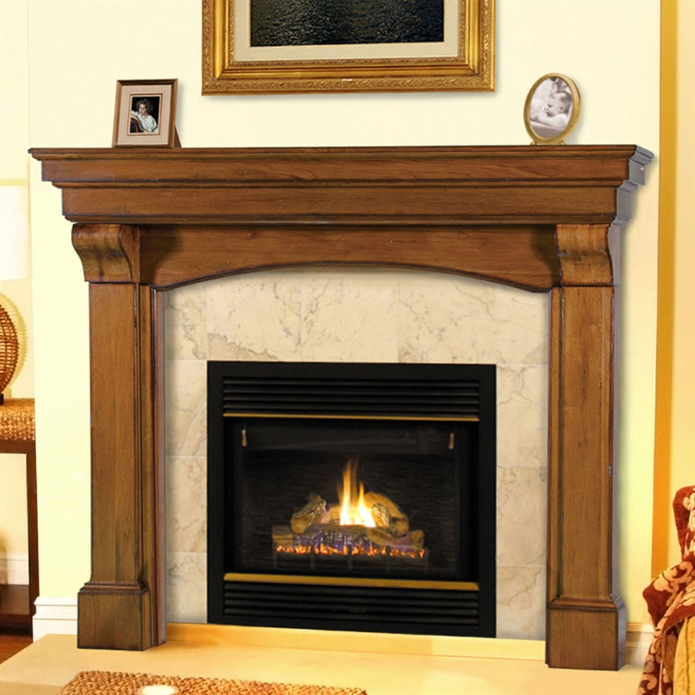 pearl mantels blue ridge fireplace mantel surround. Black Bedroom Furniture Sets. Home Design Ideas