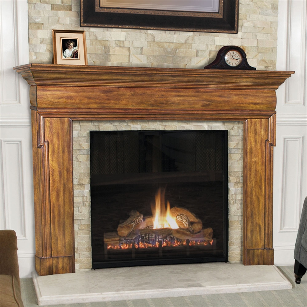 pearl mantel hermitage fireplace mantel surround. Black Bedroom Furniture Sets. Home Design Ideas