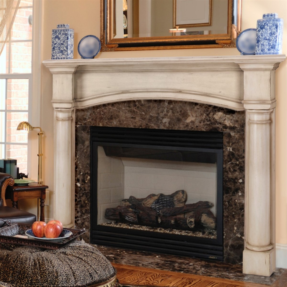 pearl mantels princeton fireplace mantel surround. Black Bedroom Furniture Sets. Home Design Ideas