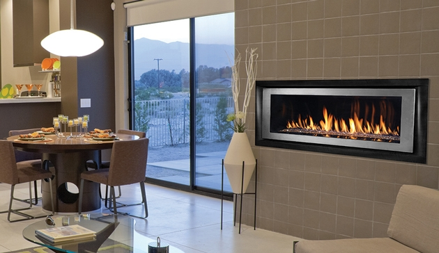 Linear Gas Fireplace >> Superior Direct Linear Vent Gas Fireplace Drl6500