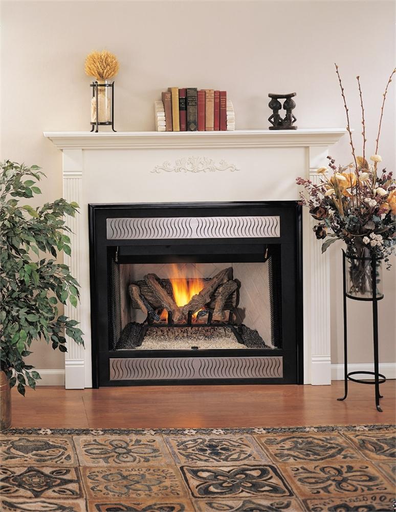 Vantage Hearth B Vent Gas Fireplace Premium Traditional