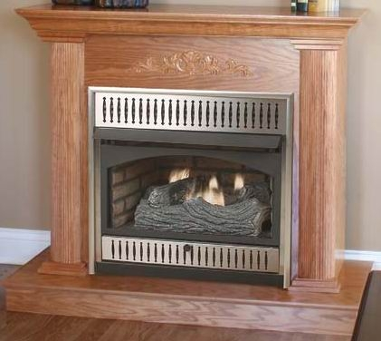 Vantage hearth vent free gas fireplace dual compact for Vantage hearth