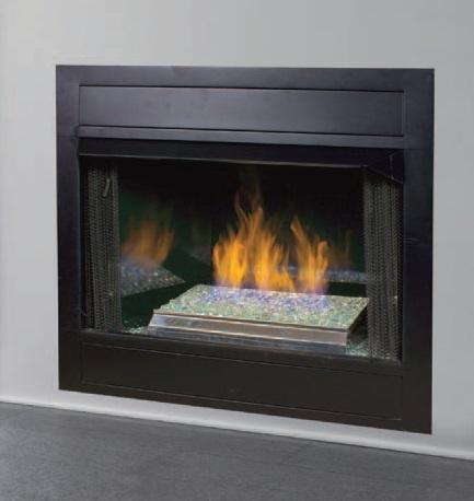 fireplaceinsert com vantage hearth vent free gas pebble burner