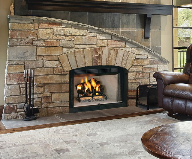 Vantage hearth wood fireplace for Vantage hearth
