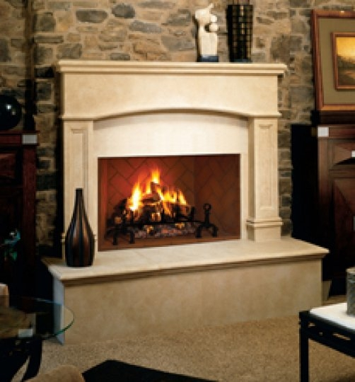 Hearth wood fireplace premium for Vantage hearth