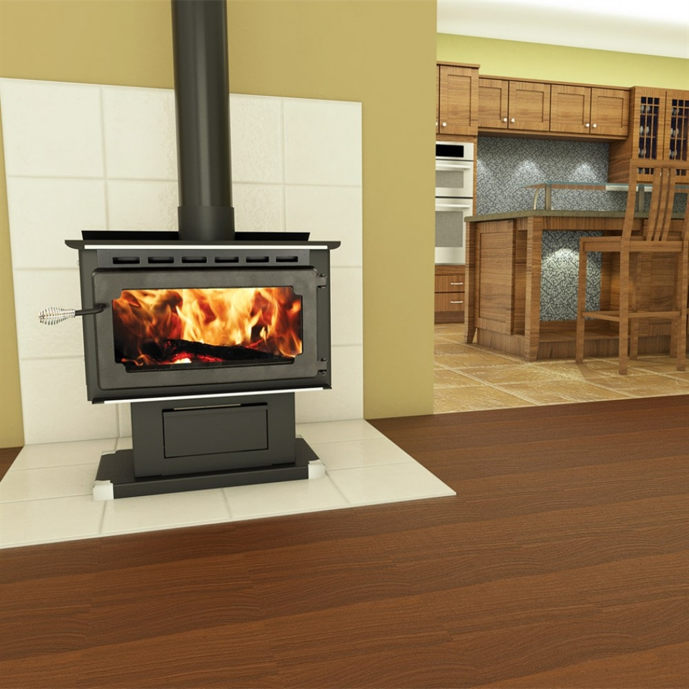 Fireplace Insert Com Vogelzang Plate Steel Wood Stove