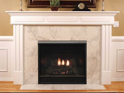 White Mountain Hearth Dv Clean Face Fireplace Tahoe Deluxe 36