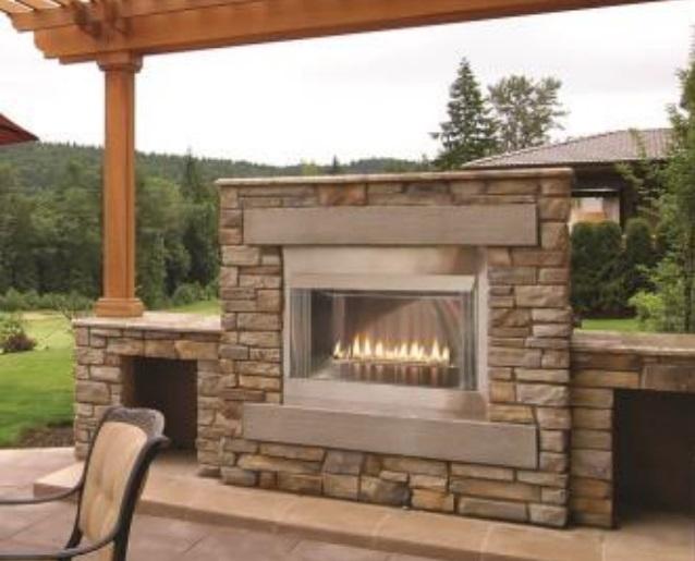 White Mountain Hearth By Empire Ventless Premium Outdoor